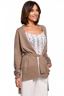 Asymetryczny gładki sweter ...