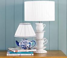 Lampka z filiżanek