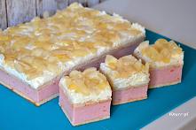 Pyszne ciasto budyniowo-śmi...