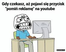 Pomijanie reklam na YouTube