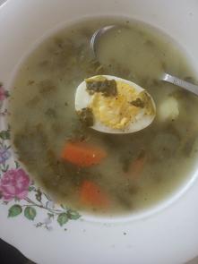 Zupa szczawiowa, taki smak ...
