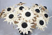 Kwiaty z pestek dyni, czarn...