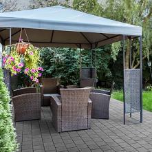 Brak słońca nie oznacza konieczności siedzenia w czterech ścianach! Praktyczny namiot i funkcjonalny taras z kostki nawet w deszczowe dni może być doskonałym miejscem na spędzen...