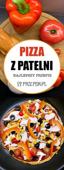 Pizza z Patelni z Szynką, P...