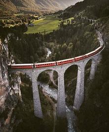 wiadukt Landwasser-Szwajcaria