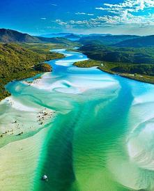 Plaża Whitehaven-Australia