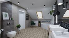 Projekt łazienki,  a raczej...