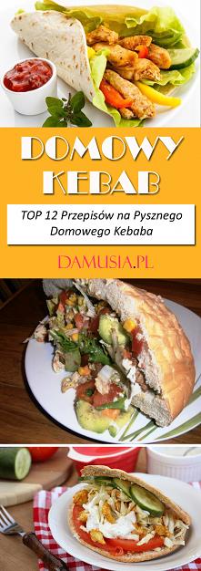 Domowy Kebab – TOP 12 Przep...