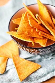 kukurydziane chipsy