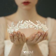 Piękne Srebrny Ślub Ozdoby ...