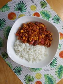 burrito (w towarzystwie ryżu)