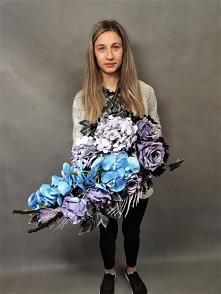 Duża kwiatowa wiązanka na cmentarz od totaldeco.pl