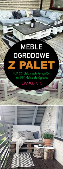 Meble Ogrodowe z Palet – TO...