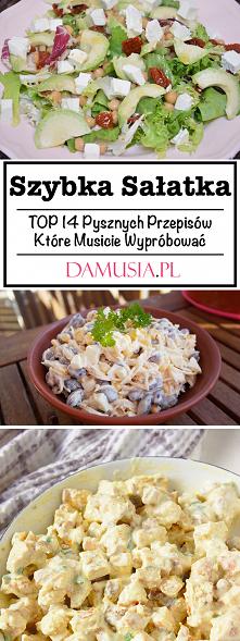 Szybka Sałatka – TOP 14 Pys...