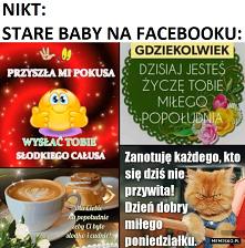 Stare baby na Facebooku