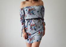 sukienka->cameo rose->...