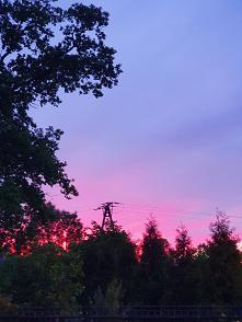 Zachód słońca dziś :)