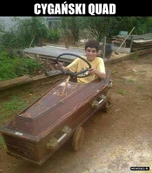 Cygański quad