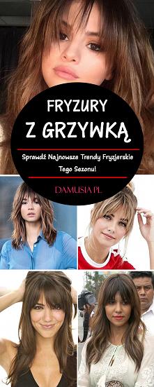 Fryzury z Grzywką 2020 – Sp...