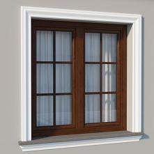 Fasadowa listwa elewacyjna DLE14 to sztukateryjna dekoracja popularna jako opaski, ramki okienne i drzwiowe. Listwa elewacyjna okienna jak DLE14 uwydatnia walory estetyczne budy...