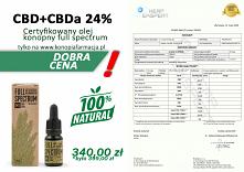 Olej konopny cbd full spect...
