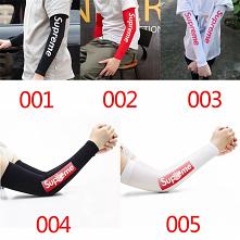 シュプリーム Nikeランニングアームカバー UVカット  Line ID: biumasks