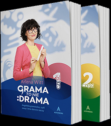 """Książka """"Grama to nie drama. Angielska gramatyka, czyli czasy i inne dziwne rzeczy"""" odczarowuje język angielski i udowadnia, że każdy może nauczyć się używać go popraw..."""