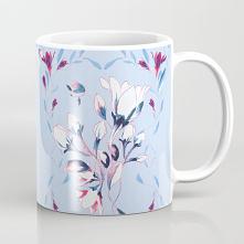 Kubek ze wzorem - Kwiat - w...