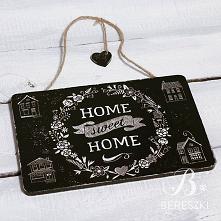 Home Sweet Home ♥️ #decoupage #handmade #dekoracje #homesweethome #decorations #diy #craftwork #rzeszów #krosno #home #wystrojwnetrz #tabliczka #zawieszka #flowers #blackandwhite