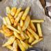 Pieczone frytki z czosnkiem i oregano