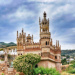 Puzzle online >> Zamek Colomares w Benalmádena, Hiszpania