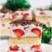 Ciasto tortowe z truskawkami