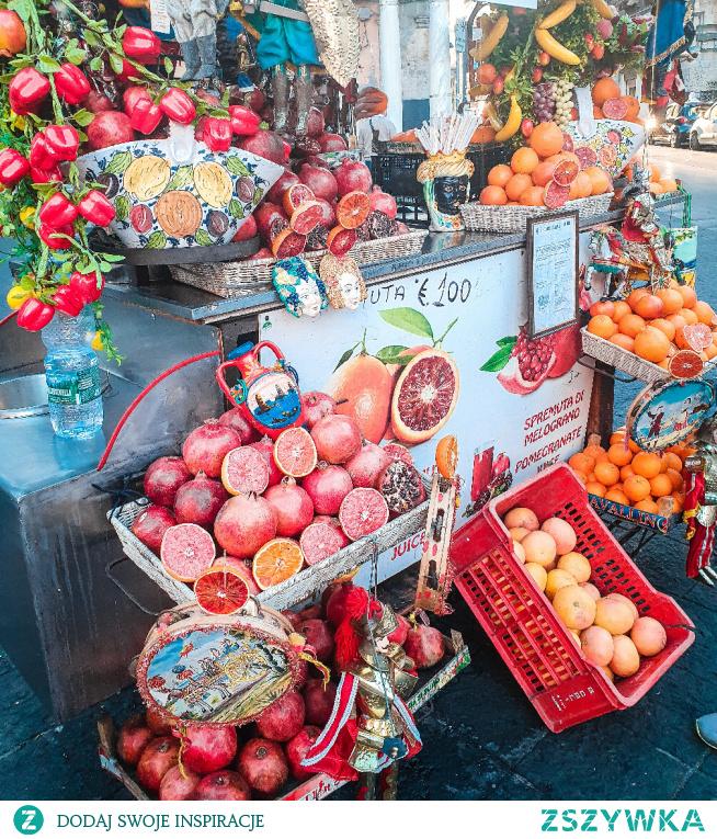 Sycylijskie pomarańcze. Ach wspomnienia... instagram => @nieidentyczna