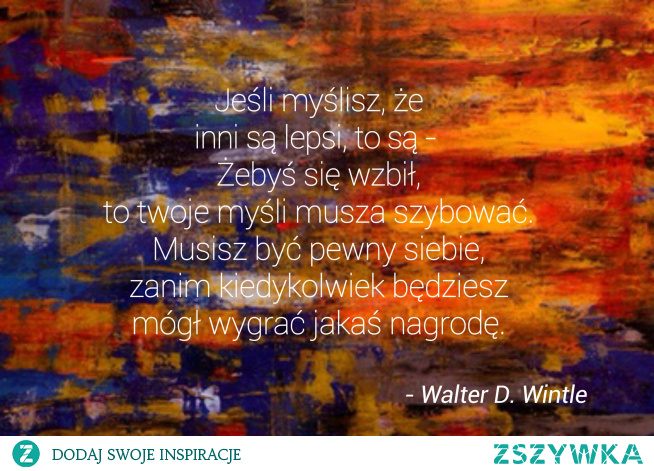 słowa Waltera D. Wintle