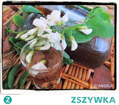 Syrop z kwiatów akacji - Acacia Flower Syrup - Sciroppo di fiori di acacia