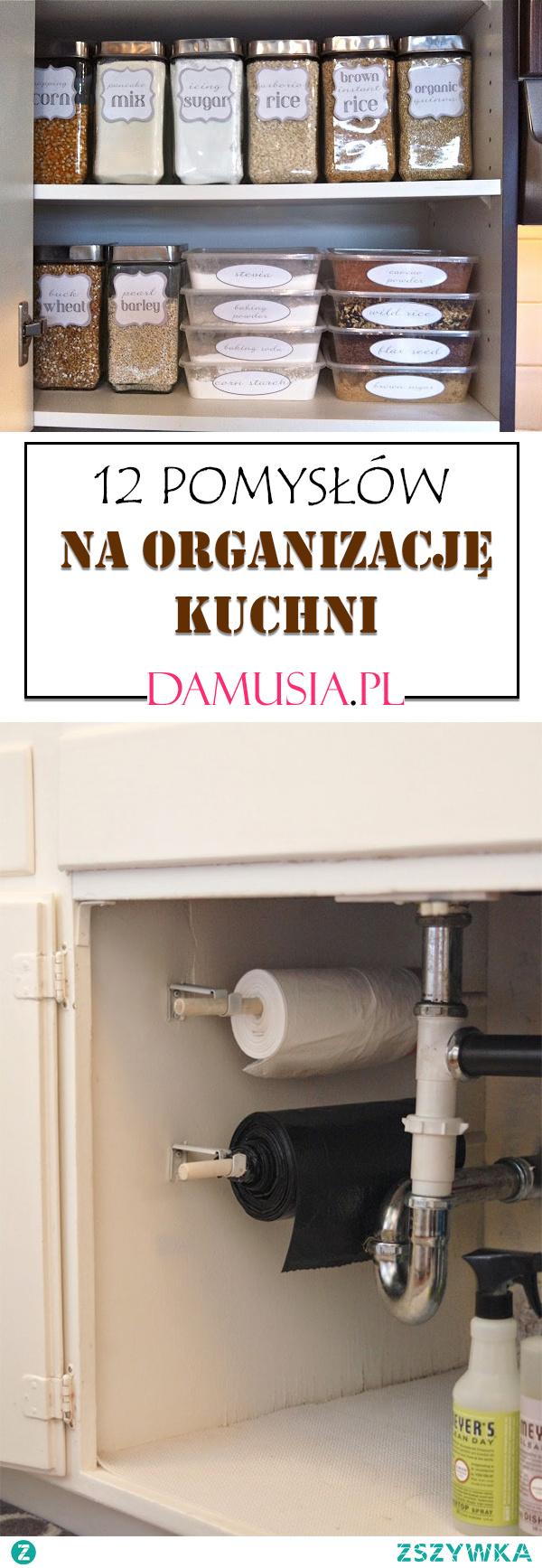 12 Pomysłów na Organizację Kuchni