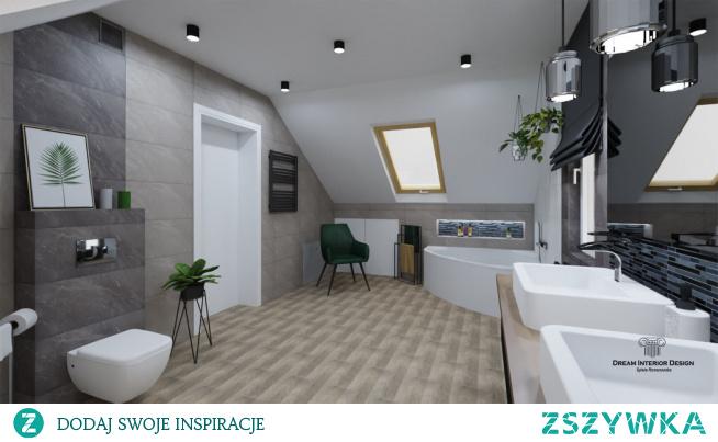 Projekt łazienki,  a raczej pokoju kąpielowego