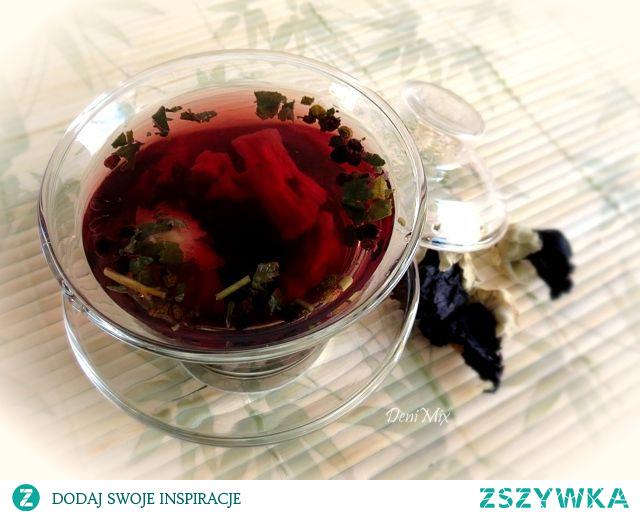 Herbatka z czarną malwą