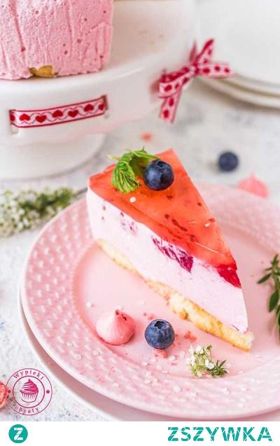 Malinowy sernik na zimno - Najlepsze przepisy   Blog kulinarny - Wypieki Beaty