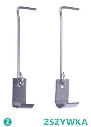 Spinka z haczykiem  to mały element konstrukcyjny, który w odpowiedni sposób zabezpieczy Twój dach!