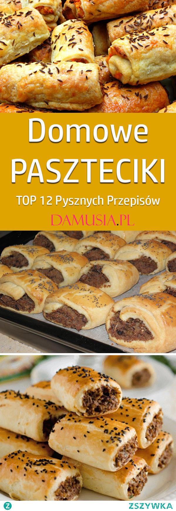 TOP 12 Pysznych Przepisów na Domowe Paszteciki