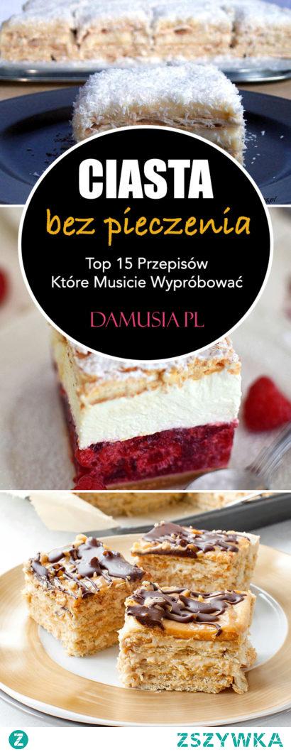 Domowe Przepisy na Ciasta Bez Pieczenia