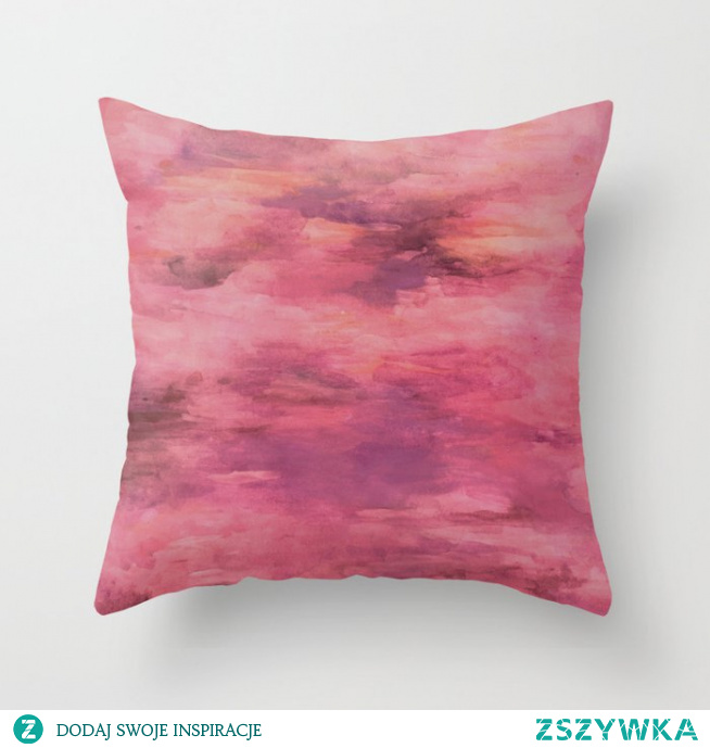 Poduszka z namalowanym wzorem   Pillow with a painted pattern