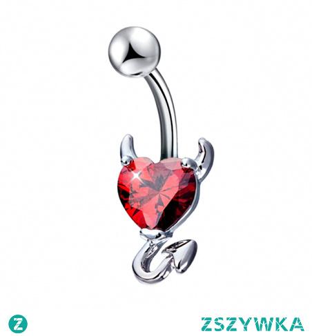 Kolczyk do pępka  -> Kliknij w zdjęcie, by przejść do sklepu -> Iron-Lady.pl