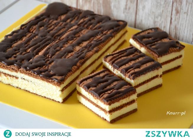 Mleczne ciasto na serkach homogenizowanych. Takie ciasta lubimy najbardziej!