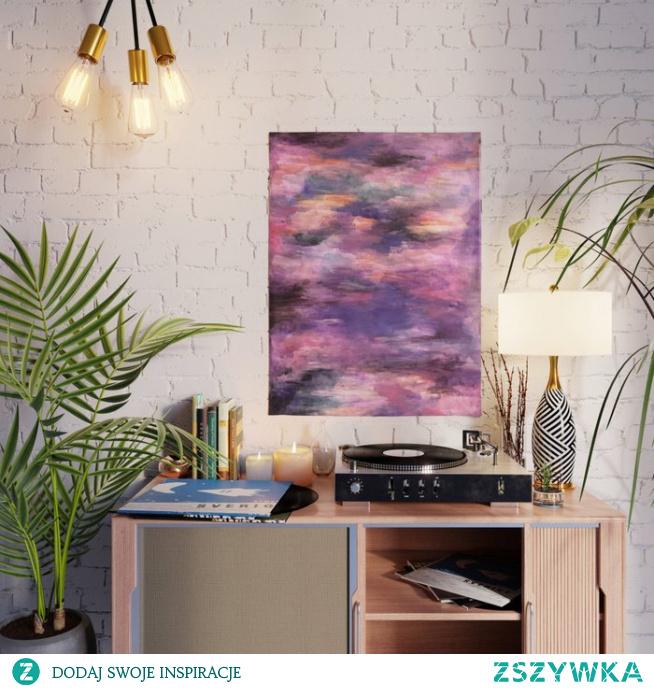 Plakat ze wzorem Kolorowo - fioletowe odcienie   Colors - purple shades Poster