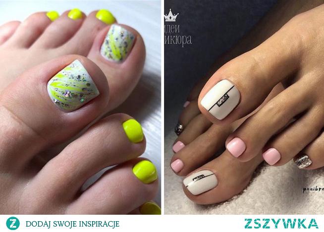 Nie macie pomysłu na letni pedicure? Sprawdźcie najmodniejsze paznokcie u stóp na lato 2020!
