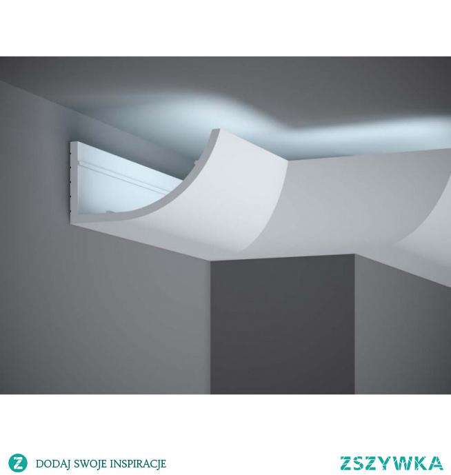 Stylowa listwa ścienna LED to MD362 Mardom Decor - Light Guard. Uniwersalny kształt MD362 Mardom zarówno do wnętrz nowoczesnych jak i klasycznych. Listwa dekoracyjna ścienna o łukowatym kształcie i gładkiej powierzchni z opcją oświetlenia LED. MD362 Mardom Decor w technologi Light Guard to listwa przysufitowa LED nie przepuszczająca światła. Wymiary MD362 Mardom to 200 x 18 x 5,5 cm.