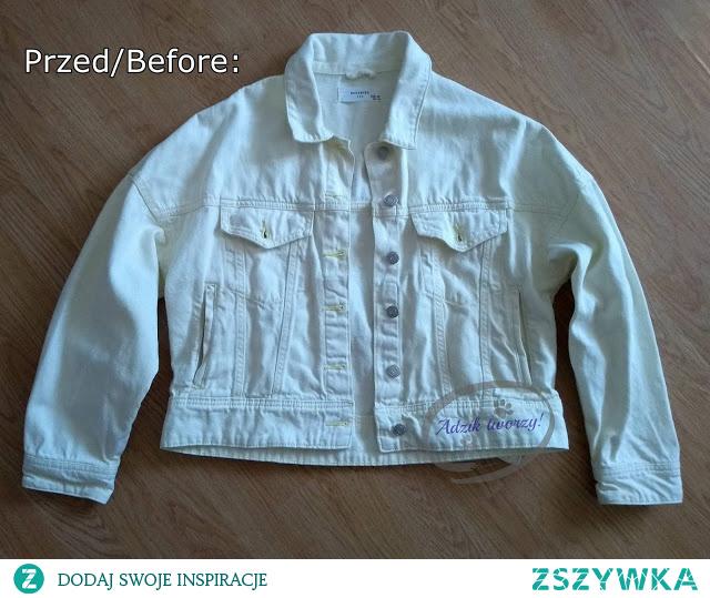 Jak nadać starym, przebarwionym ubraniom nowego koloru? W działaniu pomogą np. barwniki do tkanin! :)  Jak wygląda biała kurtka po farbowaniu - sprawdź i KLIKnij w zdjęcie lub zajrzyj na blog Adzik-tworzy.pl po instrukcje na farbowanie kurtki. :)