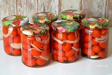 Przepis na pomidorki w zale...
